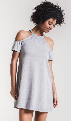 Z SUPPLY COLD SHOULDER DRESS