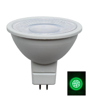 MR16 LED Coloured Globes (5W)