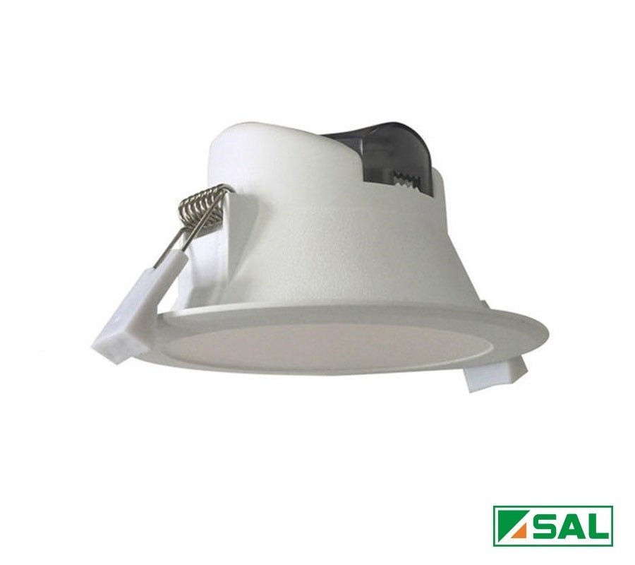 SAL 9W LED Downlight Kit 90mm Cutout White Wave S9065TC