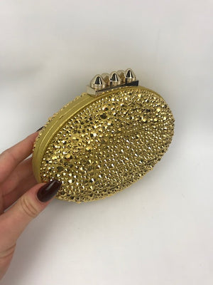 Brand New Chrisitan Louboutin Mina Strass Clutch