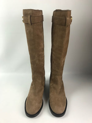 Gucci Suede Riding Boots 37