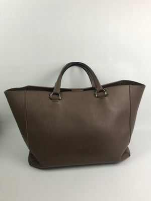 Mulberry Large Willow Tote Taupe