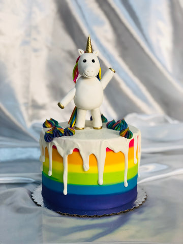 Unicorn Pride Cake Decorating Class, June 29th 12pm-4:30pm