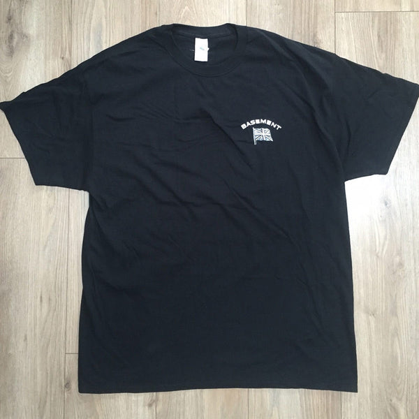 UNION JACK FLAG BLACK TEE