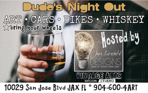 June 15th - Dude's Night Out