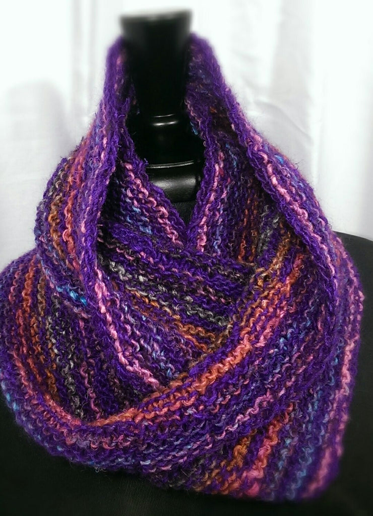 Sequence Knitting with Noro Silk Garden Lite