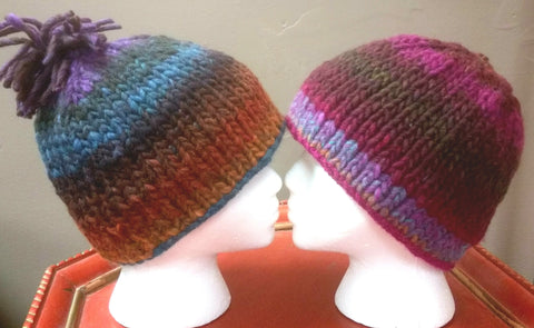 Step 2 for Beginner Knitters - Perfect Hat Class (Saturday April 6, April 20, and May 4, 9:30am to 11 am)