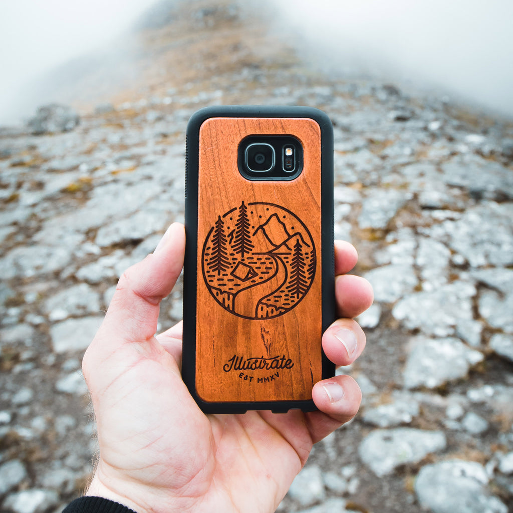 The Best Wooden Phone Cases in the UK? – Illustrate
