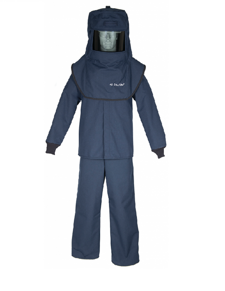 LAN4 Series Arc Flash Suit, (Cat 4, 40+cal)
