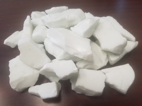 "Ivory White 2"" to 3"" Size per pound BLOWOUT SALE!! - Recycled Glass - Fire On Glass"