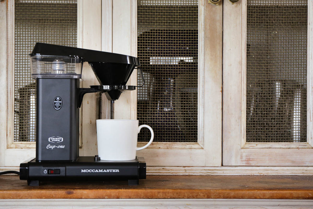 The benefits of using a Moccamaster Cup-One at home