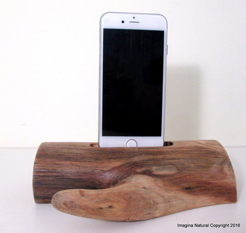 Free shipping Iphone 6 7 8 X XS Docks Pre Order DriftWood iPhone 7 8 X XS Stand Wooden iPhone 7 Docking Station Reclaimed Drift Wood iPhone 7 8 X XS Dock Wooden