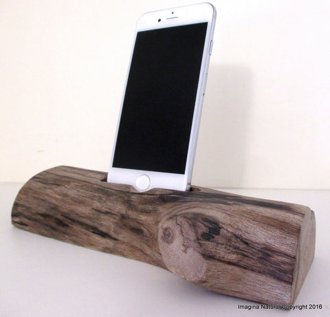 Free shipping Iphone 7-8-9- X- XS Docks Pre Order DriftWood iPhone Stand Wooden iPhones Docking Station Reclaimed Drift Wood iPhone 6-6S- 7-8-X-XS Dock Wooden Stand