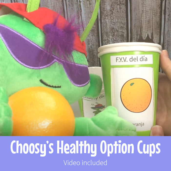 Choosy's Healthy Habit Cups