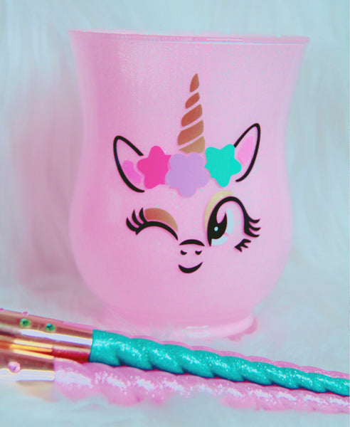 Wink Unicorn brush holder