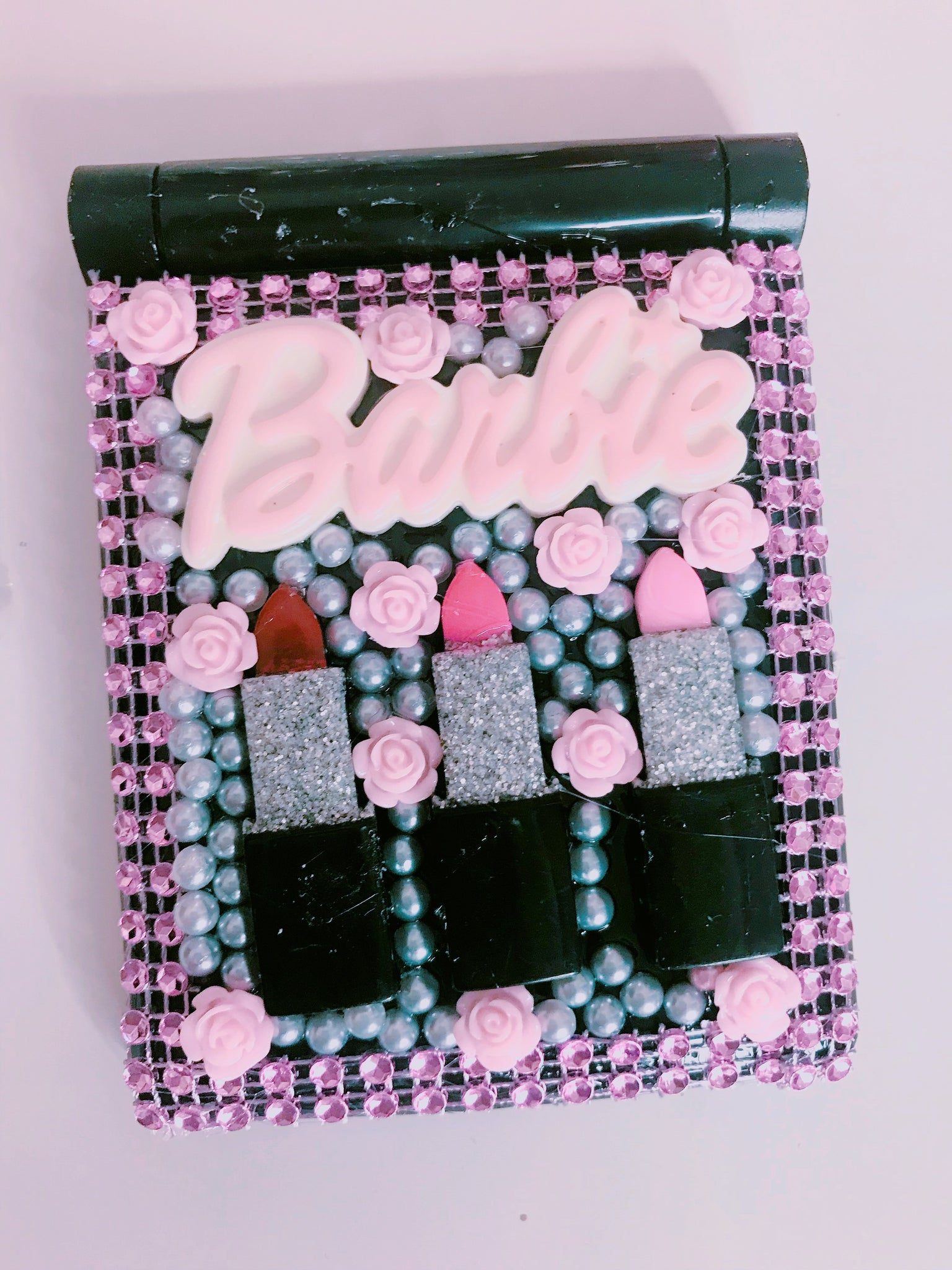 Lipstick Barbie compact mirror with lights - Classy Pink Boutique
