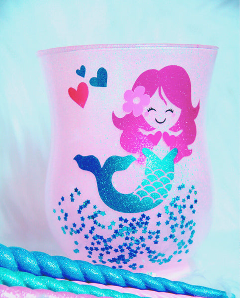 Star Mermaid brush holder
