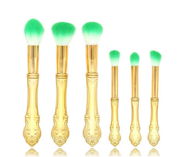 Queen Gold brush set
