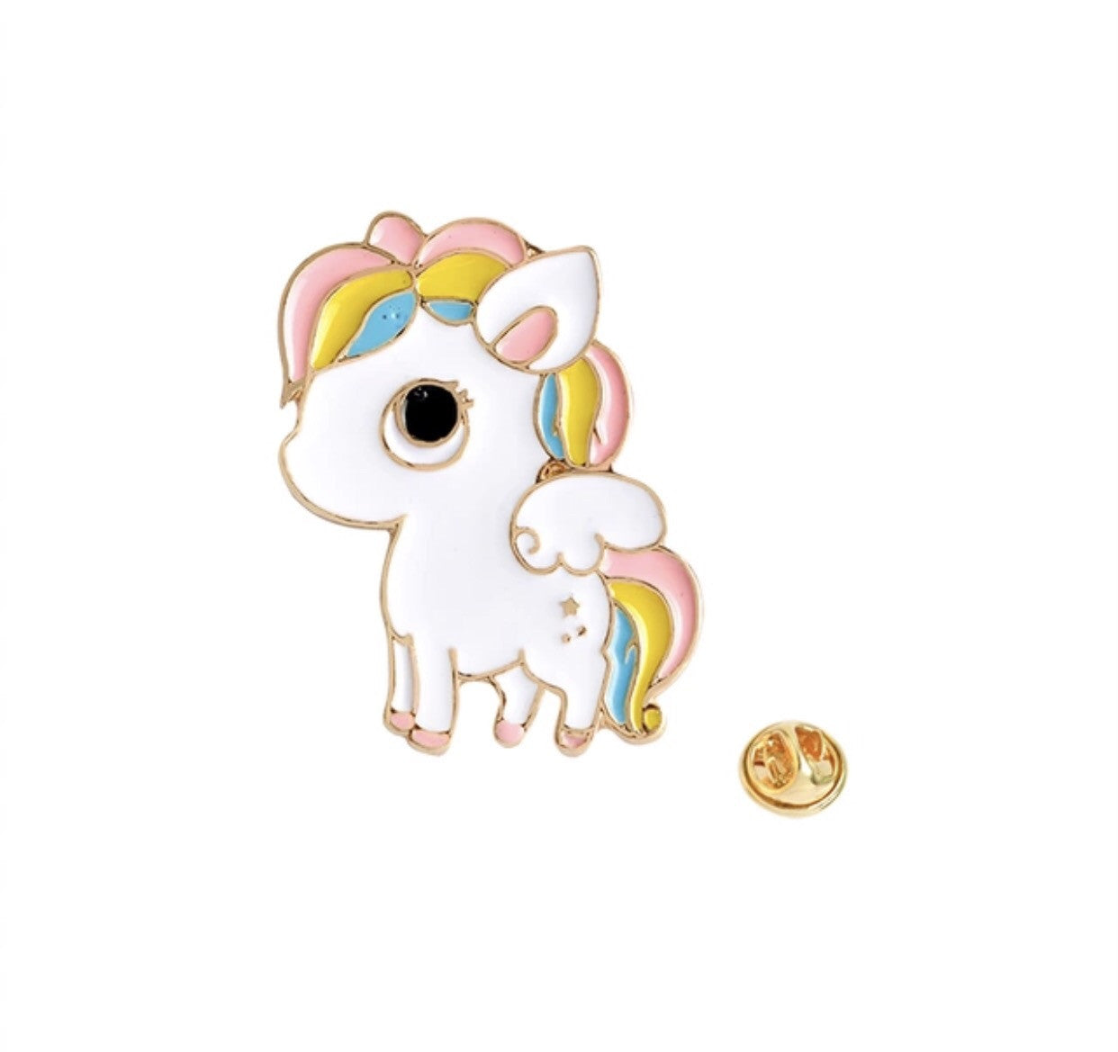 Unicorn kawaii pin