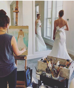 Abstract Bridal Portrait - FAQs