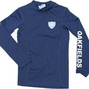 New Navy Logo'd Base Layer Top