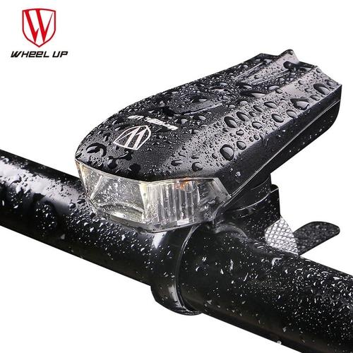 Wheel Up Waterproof USB Rechargeable Bicycle Front Light-Front Lights-Wheel Up-PanzerCases