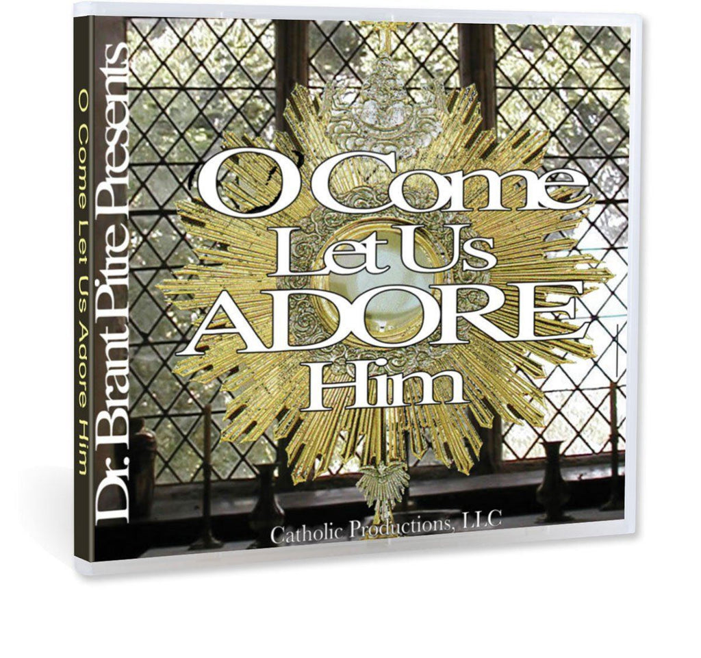 Dr. Brant Pitre gives you 10 key reasons to practice Eucharistic adoration in this Bible study on CD.