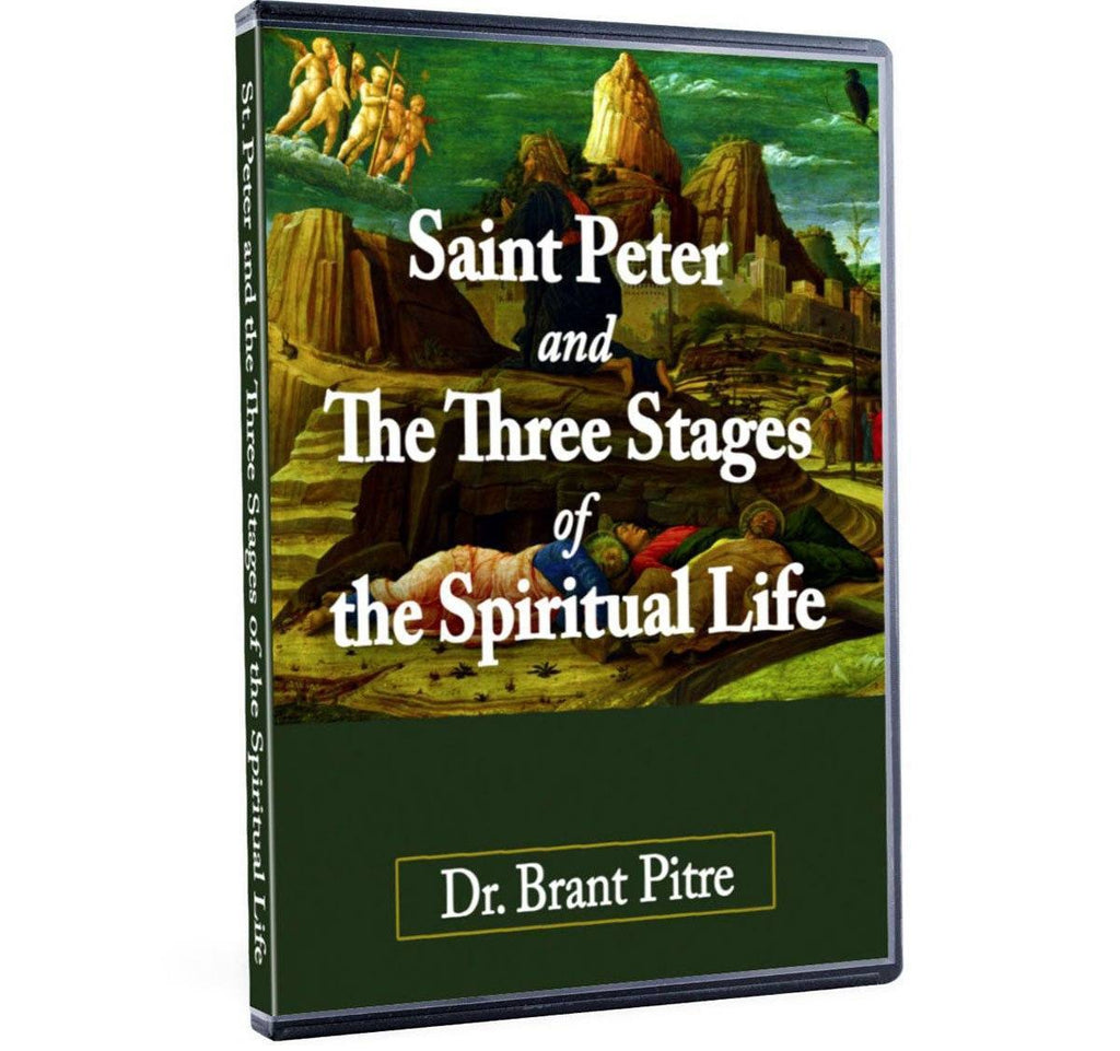 Learn what the three stages of the spiritual life are and how the Bible shows Peter going through each one in this impressive Bible study with Dr. Brant Pitre on DVD.