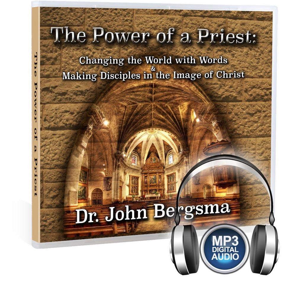 Discover the purpose behind the priesthood established by Jesus in the words of Sacred Scripture with Dr. John Bergsma (MP3).
