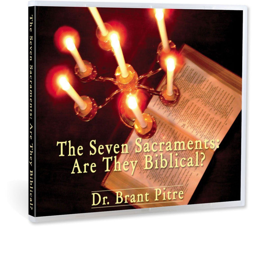 Dr. Brant Pitre gives an information packed 2 hour presentation on the Biblical foundation of the seven sacraments in Scripture (CD).