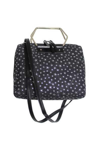 Soul Satchel in Starry Denim
