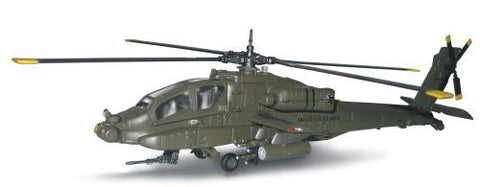 1/40 Scale D/C AH-64 Apache Whitehawk Blackhawk Helicopter Singles and Sets - Funzalo Toys