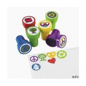 24 pc Peace Sign Stampers [Toy] - Funzalo Toys