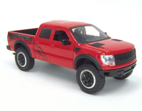 1/24th Diecast Red Ford F-150 Raptor Pickup by Jada - Funzalo Toys