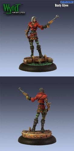 Rusty Alice Steampunk Mercenary - Malifaux Outcasts - Funzalo Toys