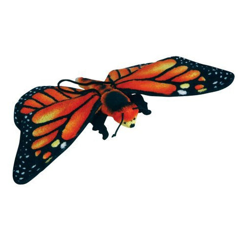 "13"" Monarch Butterfly Plush Stuffed Animal Toy by Animal Planet - Funzalo Toys"