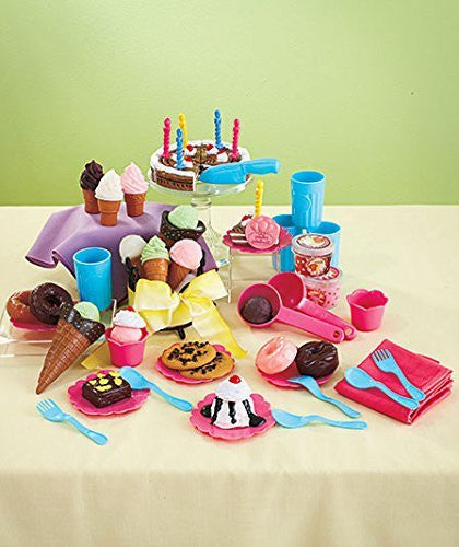 66-Pc. Birthday Party Play Food Sets - Funzalo Toys