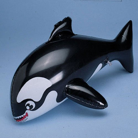 """One 16"" Inflatable Whale Toy - Funzalo Toys"