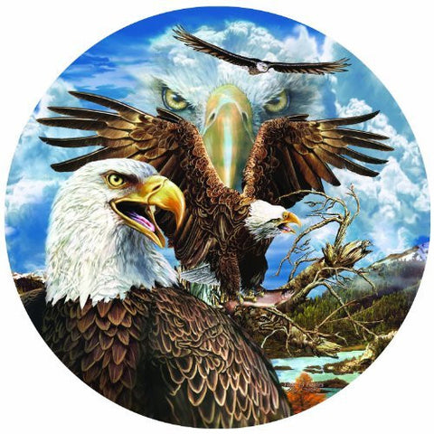 13 Eagles a 1000-Piece Jigsaw Puzzle by Sunsout Inc. - Funzalo Toys
