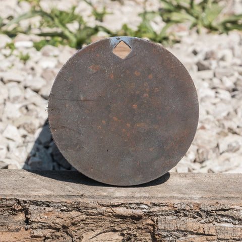 "3/8"" AR500 Steel Static Round Target 6"""