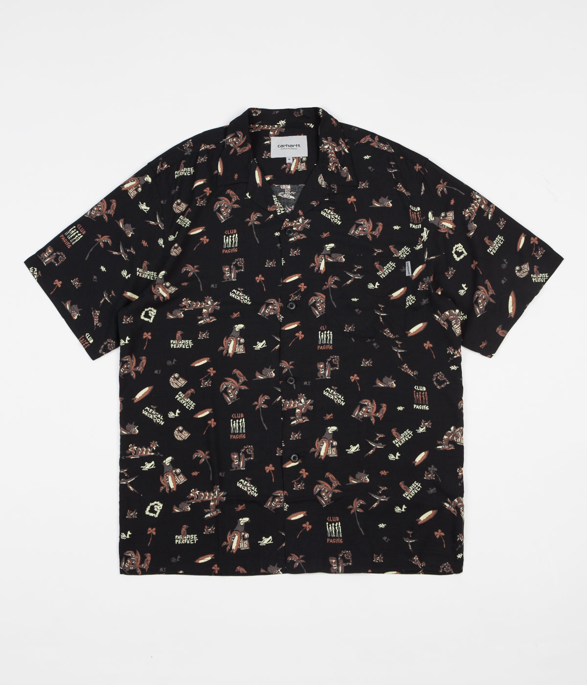 Carhartt Club Pacific Short Sleeve Shirt - Black