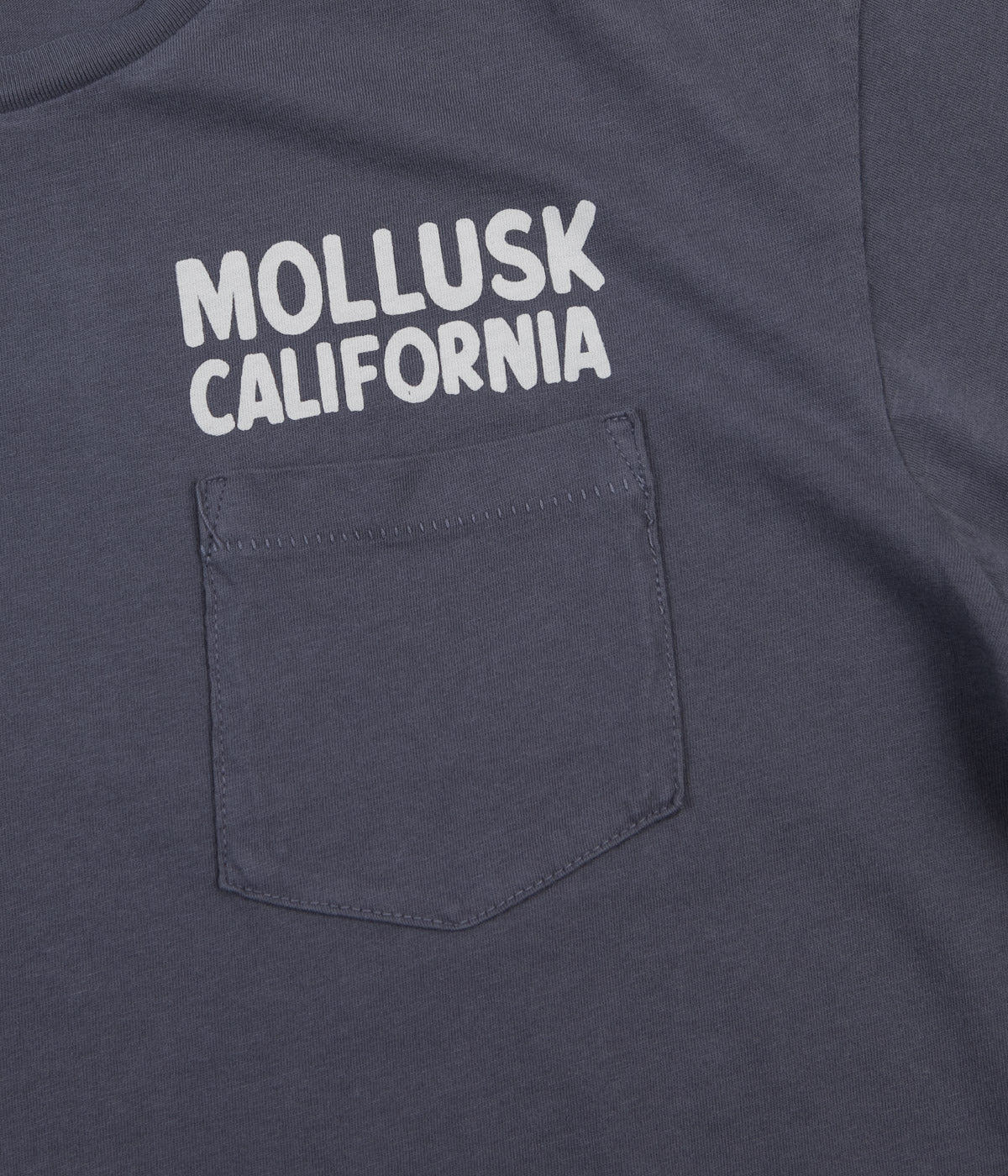 Mollusk Surf Supply T-Shirt - Faded Navy