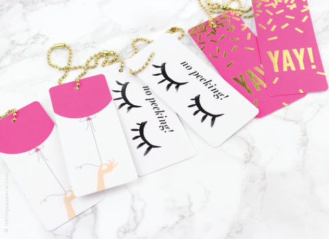 Luxe Birthday Gift Tags