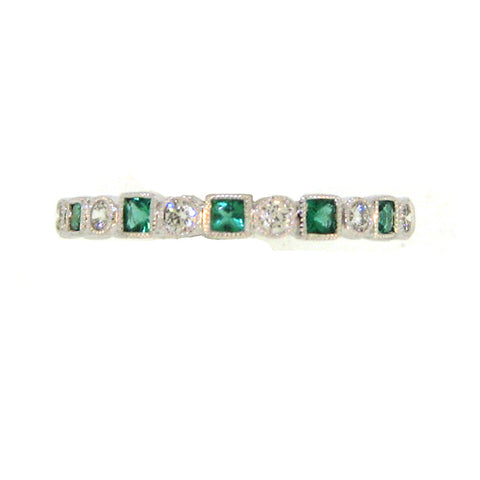 Emerald and Diamond Alternating Partial Band