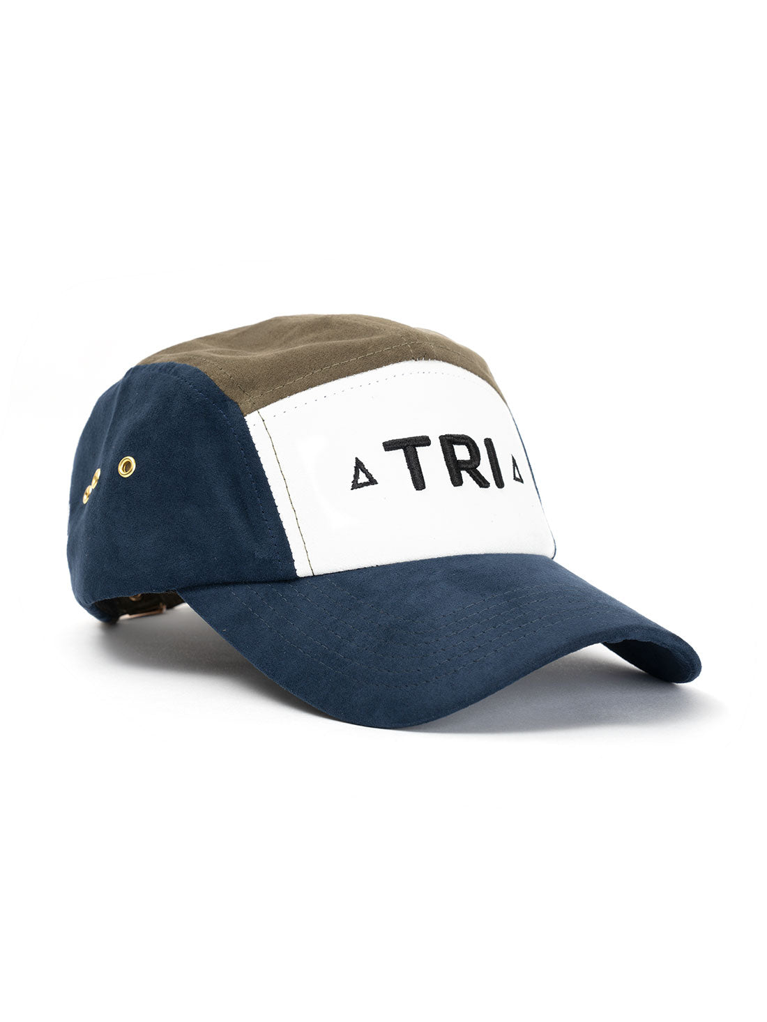 TRI 5 Panel NAVY/OLIVE SUEDE