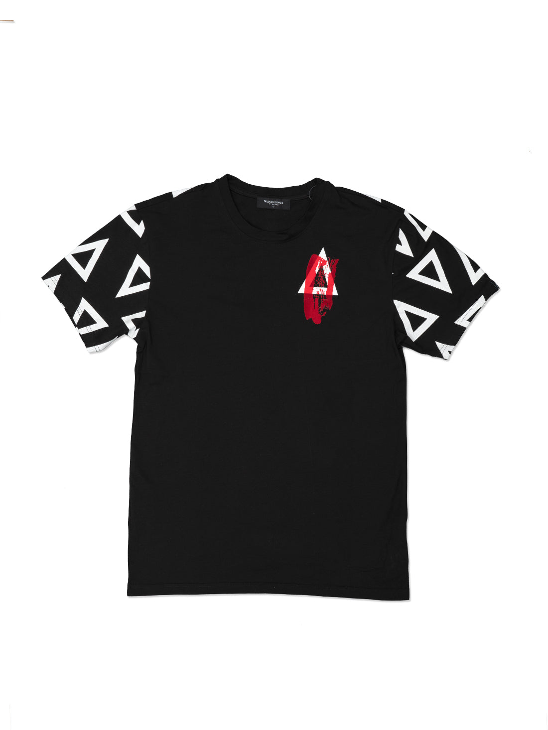 BLACK MULTI TRIANGULO TShirt