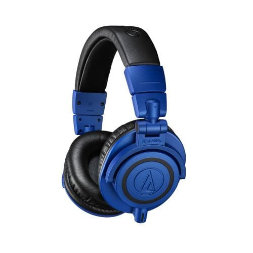 Audio Technica ath m50x BB, Blue limited edition finish