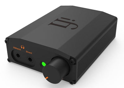 iFi Nano iDSD Black Label, usb dac headphone amp, with IEM Match for earphones