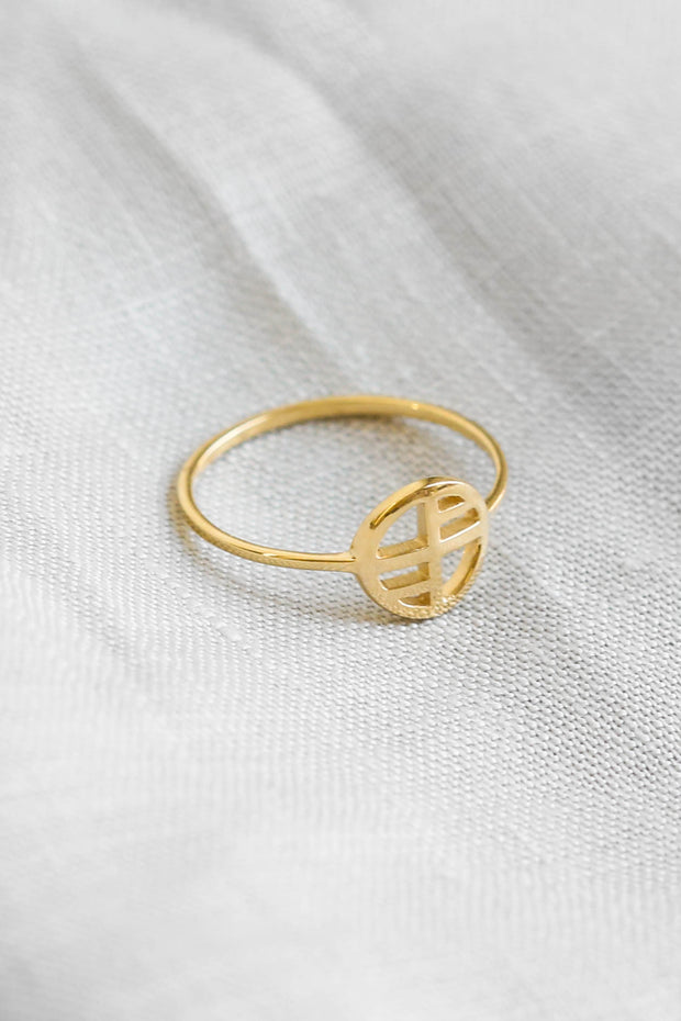 Signature Logo Ring