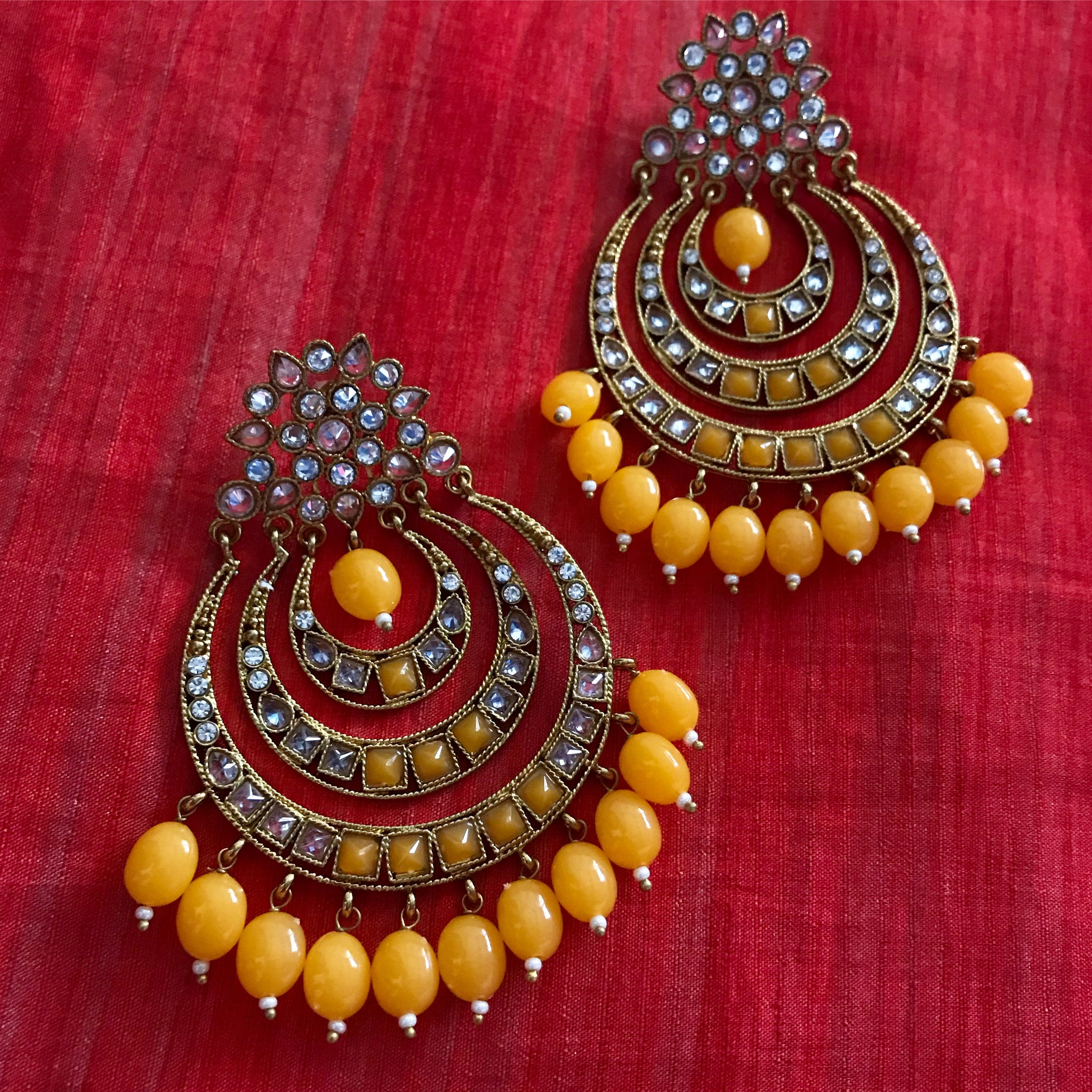 EXQUISITE BEADED CHANDBALIS